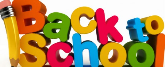 A checklist for the new school year